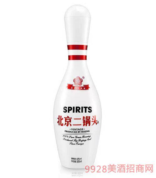 北京二锅头酒42度500ml红标
