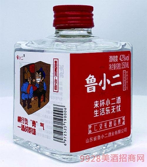 鲁小二酒·黑旋风-李逵42度150ml