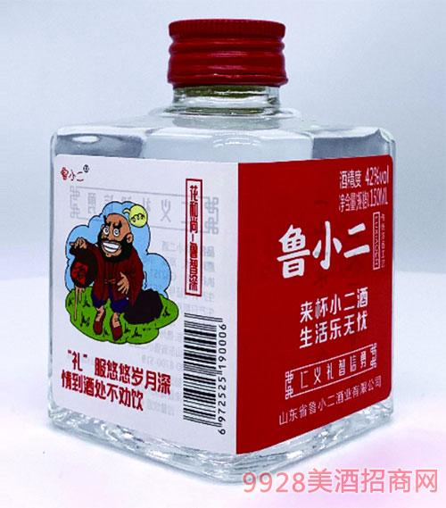 鲁小二酒·花和尚鲁智深42度150ml