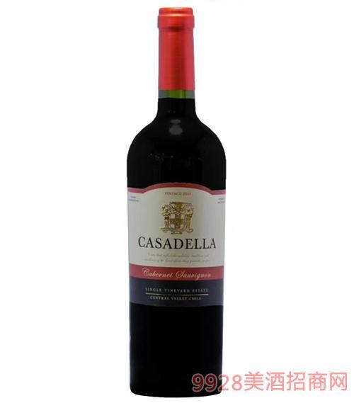 卡薩德拉經典赤霞珠干紅葡萄酒