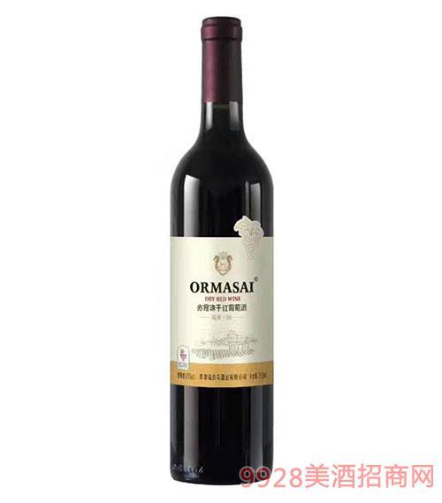 歐蔓莎赤霞珠干紅葡萄酒13度750ml