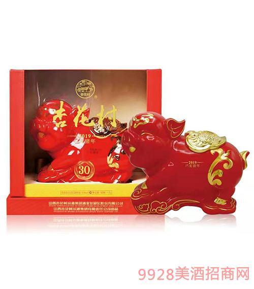 杏花村豬年生肖酒(紅)