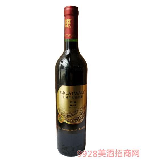長城干紅葡萄酒窖藏解百納750ml