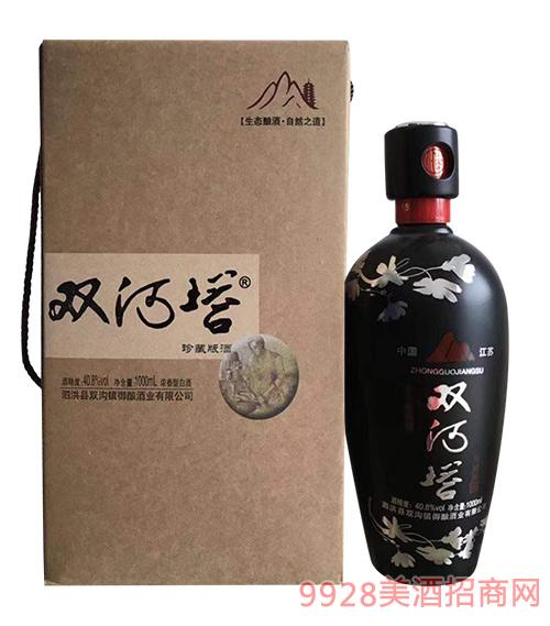 双河塔珍藏版酒40.8度500ml