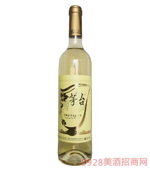茅�_卡佩王干白葡萄酒12度750ml
