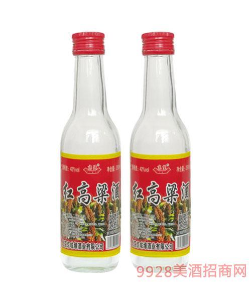京堡红高粱酒42度250ml