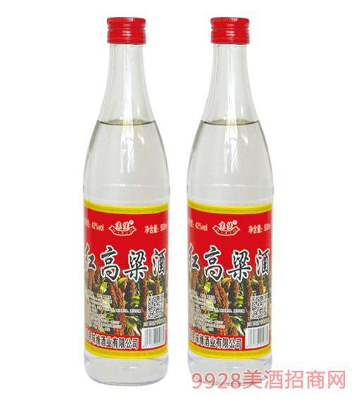 京堡红高粱酒42度500ml