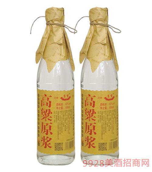 京堡高粱原漿酒42度500ml