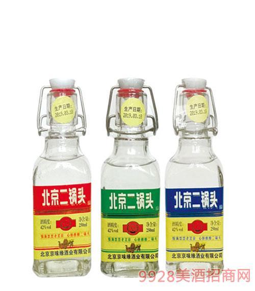 京堡北京二锅头酒42度250ml