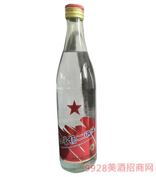 红星杨二锅头酒500ml白瓶