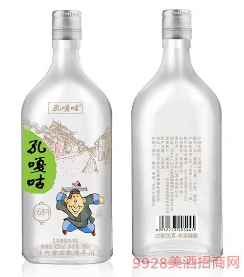 孔噶咕酒42度500ml浓香型