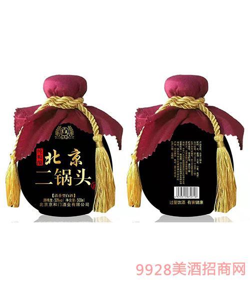 京延北京二��^酒50度500ml��Z�