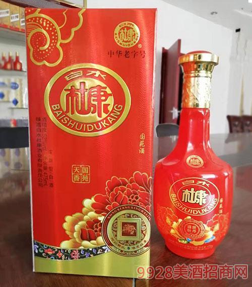 白水杜康酒国苑天香52度475ml