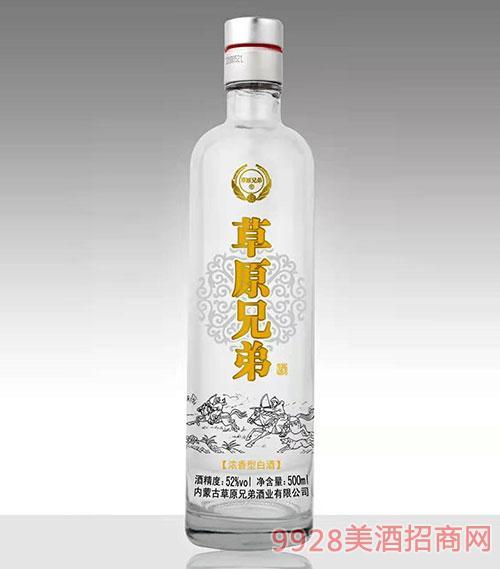 草原兄弟酒52度500ml