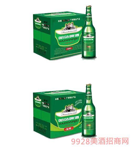 哈站站爽啤酒500mlx12