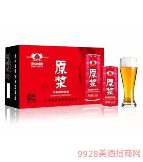 爱京原浆啤酒