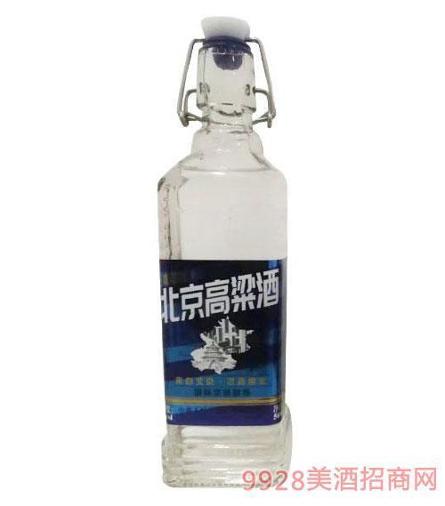 北京高粱酒蓝标
