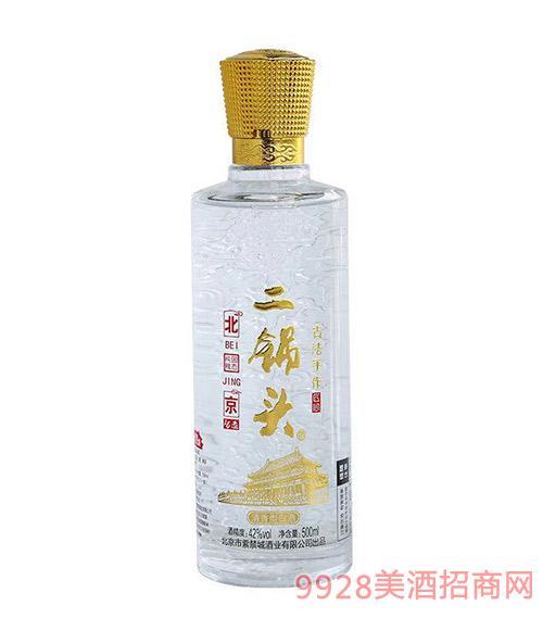北京二锅头酒42度500ml黄标