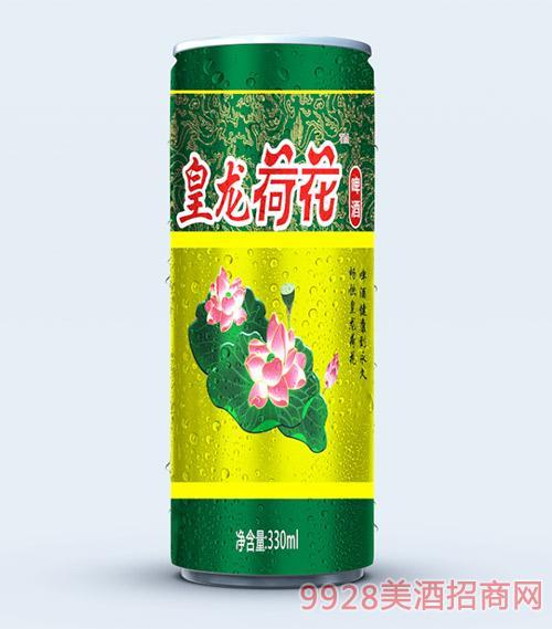 皇龙荷花啤酒330ml