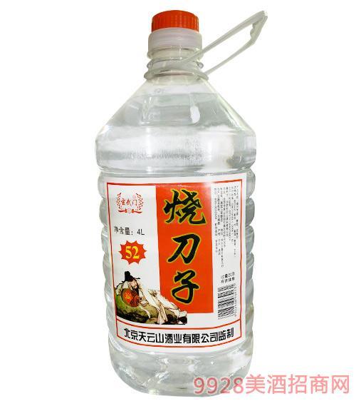 玄武�T��刀子酒30度4L