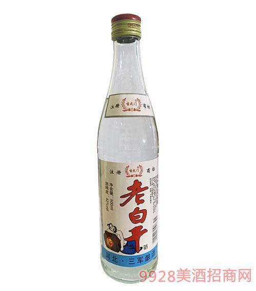 玄武�T老白干酒42度500ml