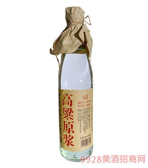 玄武�T高粱原�{酒42度500ml-清香型