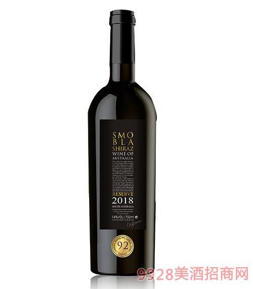 思慕贝拉赤霞珠干红葡萄酒黄标14度750ml