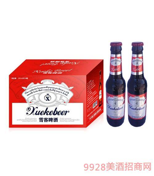 哈尔滨雪客啤酒275ml