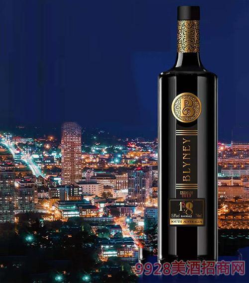 布萊尼優質西拉干紅葡萄酒15.8度