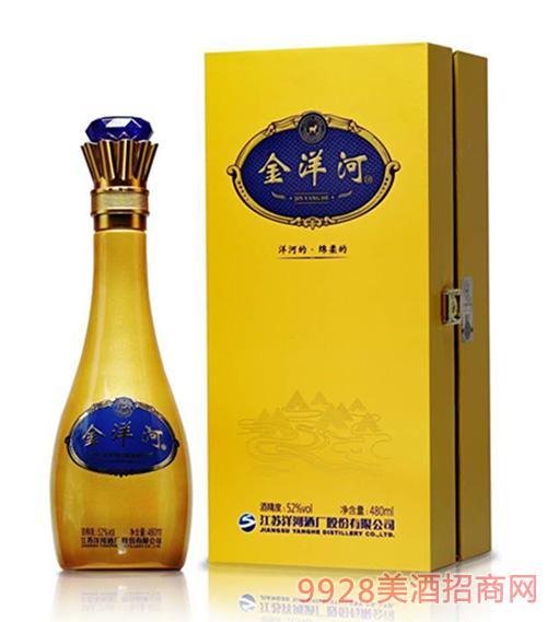 金洋河酒52度480ml