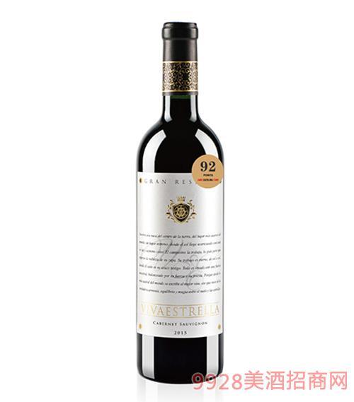 菲凡之星特酿珍藏赤霞珠红葡萄酒