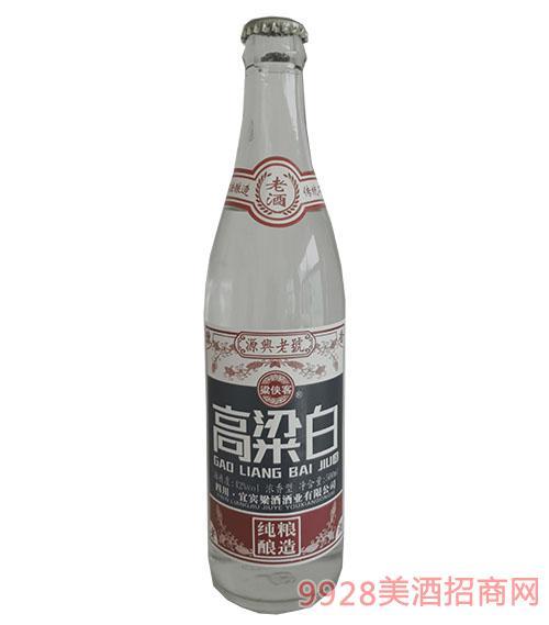 梁侠客高粱白酒500ml