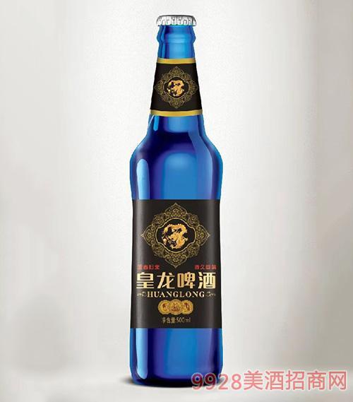 皇龙啤酒500ml