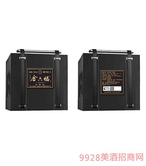 金六福酒收藏�52度3L