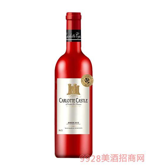 卡洛特城堡葡萄酒14度750ml
