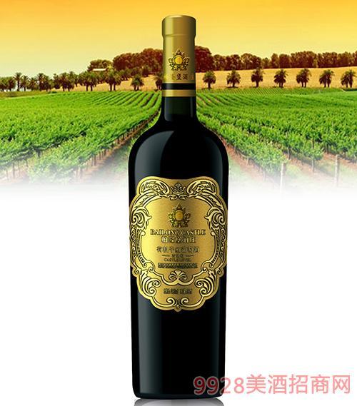 古堡级有机干红葡萄酒14.5度750ml