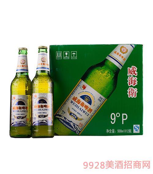 威海�l啤酒9度