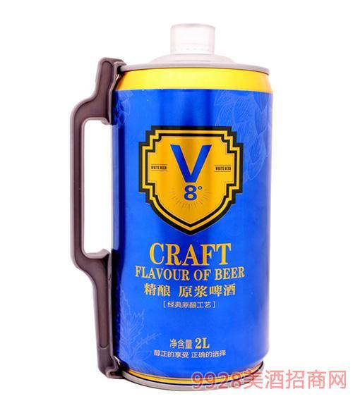 精�原�{白啤酒8度
