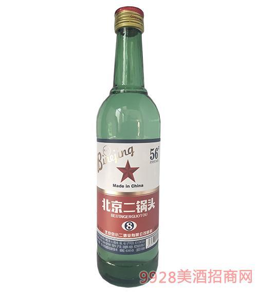 北京二锅头酒56度500ml绿瓶