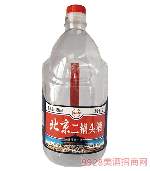京小二北京二锅头酒56度2L