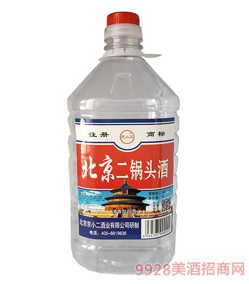 京小二北京二锅头酒56度5L