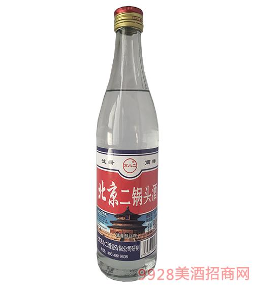 京小二北京二锅头酒56度500ml白瓶