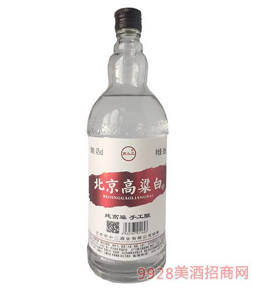 京小二酒北京高粱白42度500ml(红标)