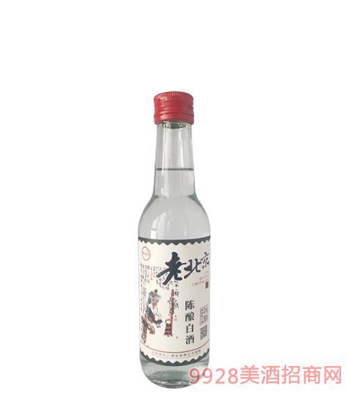 京小二老北京陈酿白酒42度260ml
