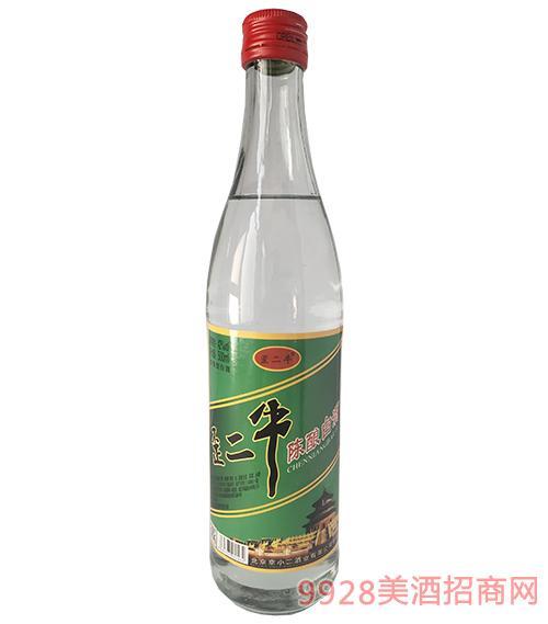 歪二牛陈酿白酒42度500ml