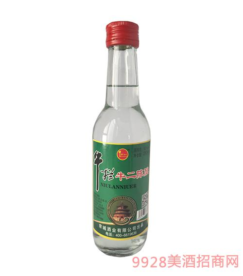牛栏牛二酒陈酿42度260ml