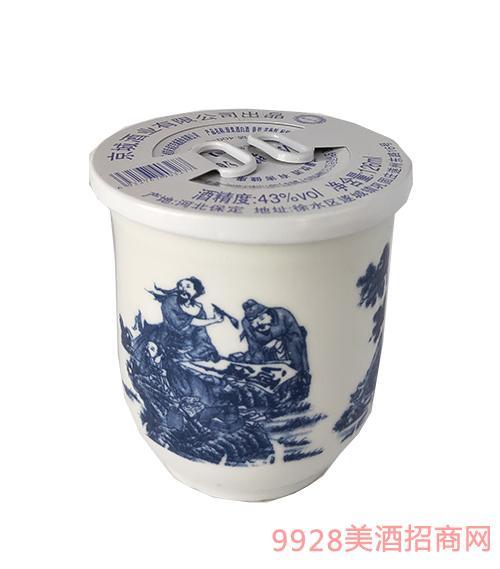 原浆酒白酒43度126ml浓香型