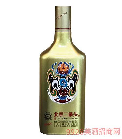 多彩北京二锅头酒金瓶