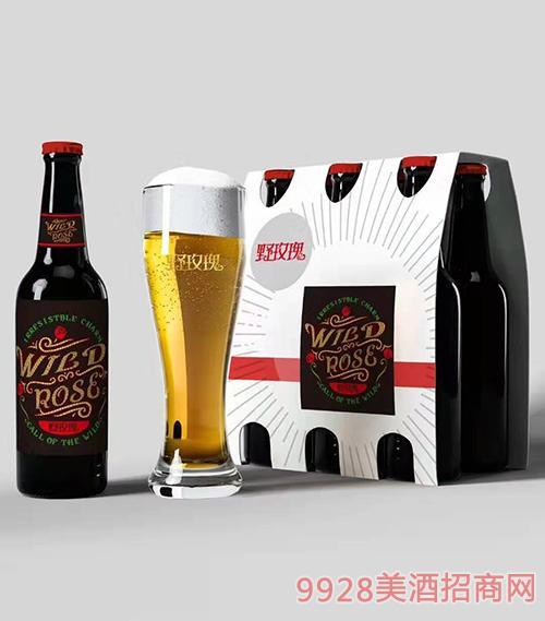 野玫瑰花仙子啤酒瓶装(红盖)
