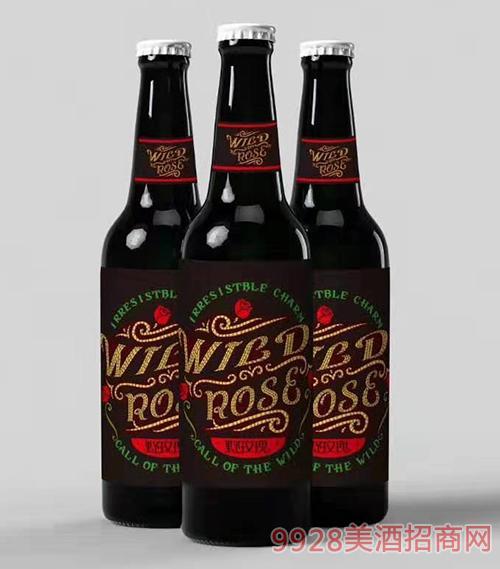 野玫瑰花仙子啤酒瓶�b(白�w)